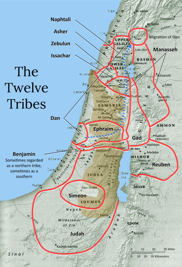 12 Tribes Of Israel Today Map History in the Bible Podcast | The Twelve Tribes of Israel and Judah 12 Tribes Of Israel Today Map