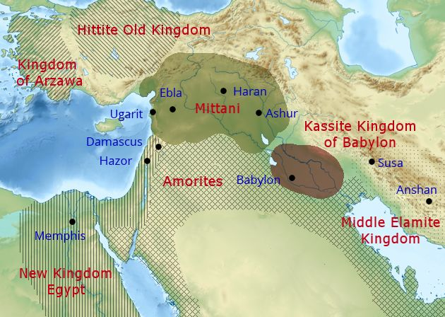 History In The Bible Podcast The Geopolitics Of The Middle East - Map of egypt in bible times