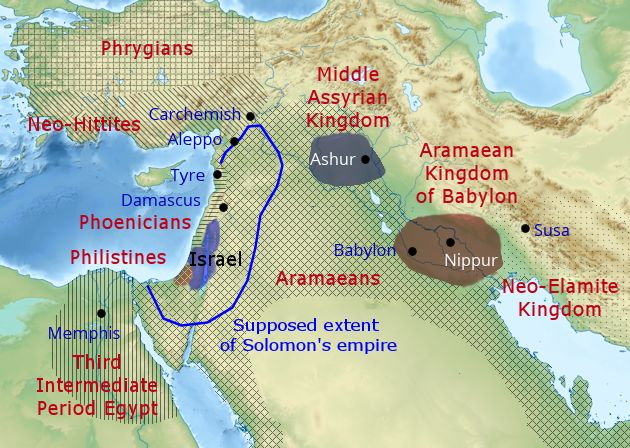 History in the Bible Podcast | The Geopolitics of the Middle East in on israel divided, israel 700 bc, israel home,