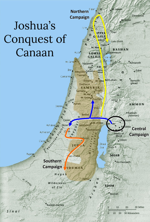 history in the bible podcast the conquest of canaan